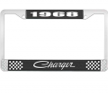 Dante's Mopar Parts - License Plate Frame-1968 Dodge Charger