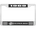 Body - License Plate Brackets/Lens - Dante's Mopar Parts - License Plate Frame-1969 Dodge Super Bee