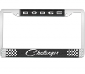 Body - License Plate Brackets/Lens - Dante's Mopar Parts - License Plate Frame- Dodge Challenger