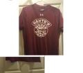 Dante's Mopar Parts Under Armour Short Sleeve T-Shirt-LARGE Burgundy