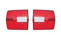 Lighting - Tail Light Lens - Dante's Mopar Parts - Mopar Lenses Tail Light Lenses -1968 Plymouth Road Runner GTX