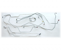 Brakes/Wheels - Brake Line Kit 1973-1976 A-Body - Dante's Mopar Parts - Mopar Brake Lines Sets 1973 A-Body Full Brake Line Sets