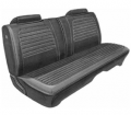Mopar Seat Covers 1972 Charger SE & Charger Deluxe Style Front Split Bench Seat Cover