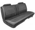 Dante's Mopar Parts - Mopar Seat Covers 1972 Charger SE & Charger Deluxe Style Front Split Bench Seat Cover - Image 1