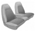Mopar Seat Covers 1973 Charger SE B body Front Split Bench with Center Armrest