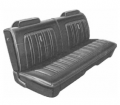 Dante's Mopar Parts - Mopar Seat Covers 1974 Dodge Charger Deluxe Front Split Bench - Image 1
