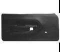 "Interior - Door Panels-E-Body - Dante's Mopar Parts - Mopar OE Correct Injection Molded ""Metro"" BLACK Door Panels 1970-1974 Plymouth Barracuda"