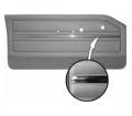 1965 Dart GT Bucket Style Rear Door Panel