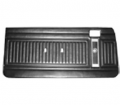 1975-76 Duster, Duster 360 & Dart Sport Bucket & Bench Style Front Door Panel