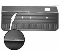 1975-76 Duster, Duster 360 & Dart Sport Bucket & Bench Style Rear Door Panel
