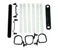 Electrical - Underhood Wiring Straps - Dante's Mopar Parts - Mopar Underhood Wire Strap Kits- 1970 E-body
