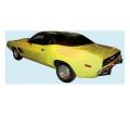 Stripes & Decals - Stripe Kits Dodge E-Body - Dante's Mopar Parts - Mopar Stripe Kit 1972-1974 Dodge Challenger