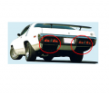 Dante's Mopar Parts - Mopar Stripe Kits 1972 GTX Decal & Hood-Fender Strobe Stripe - Image 2