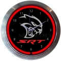 Accessories - Neon Clocks - Dante's Mopar Parts - Neon Clocks - SRT Hellcat