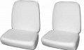 Interior - Seat Foam & Accesories - Dante's Mopar Parts - 1966-67 Bucket Seat Foam Set A & B-Body