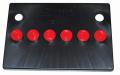 Electrical - Battery Topper - Dante's Mopar Parts - Mopar Battery Topper 1966-1974 A/B/E Body Group 24 Red Caps