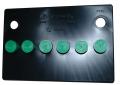 Electrical - Battery Topper - Dante's Mopar Parts - Mopar Battery Topper 1966-1974 A/B/E Body Group 24 Green Caps