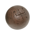 Interior - Shifter Knob - Dante's Mopar Parts - Mopar Hurst 4 Speed Woodgrain Shift Knob