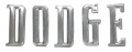 """Dante's Mopar Parts - Mopar 1970,1972-1974 Challenger """"DODGE"""" Hood Letters"""