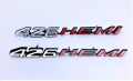 "Body Components - Emblems - Dante's Mopar Parts - Mopar 1970-1971 Dodge Challenger ""426 Hemi"" Shaker Emblems-Pair"