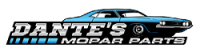 Dante's Mopar Parts - Mopar 1970-74 E-Body Parking Brake Cable Kit without Intermediate Cable