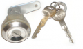 Body Components - Locks –Door, Ignition & Trunk - Dante's Mopar Parts - Mopar Trunk Lock 1973-1974 Plymouth Barracuda